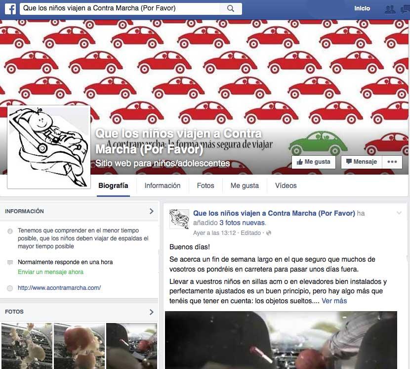 Facebook Acontramarcha.com